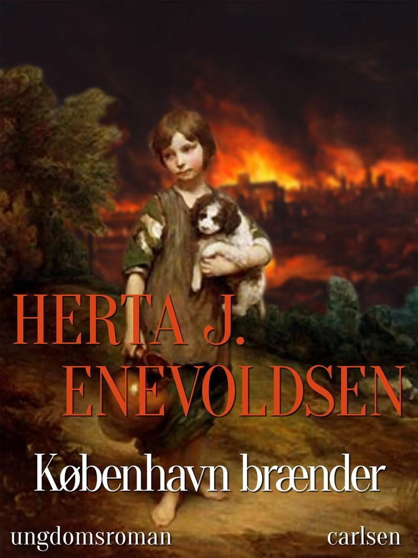 Herta J. Enevoldsen: København brænder : ungdomsroman