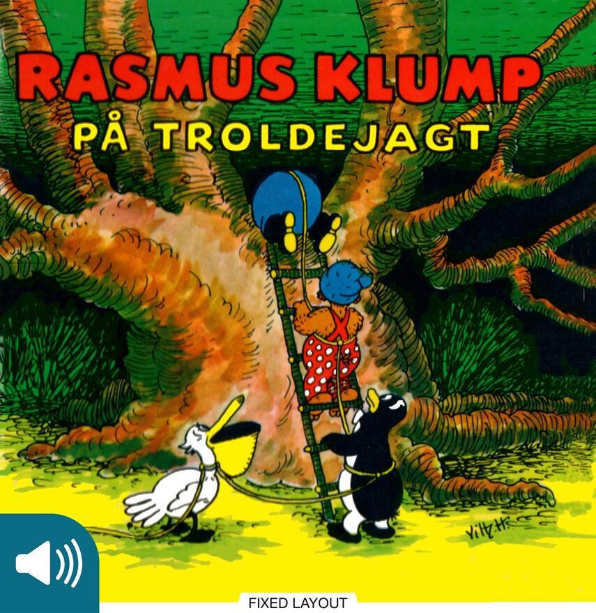 Carla Hansen (f. 1906): Rasmus Klump på troldejagt