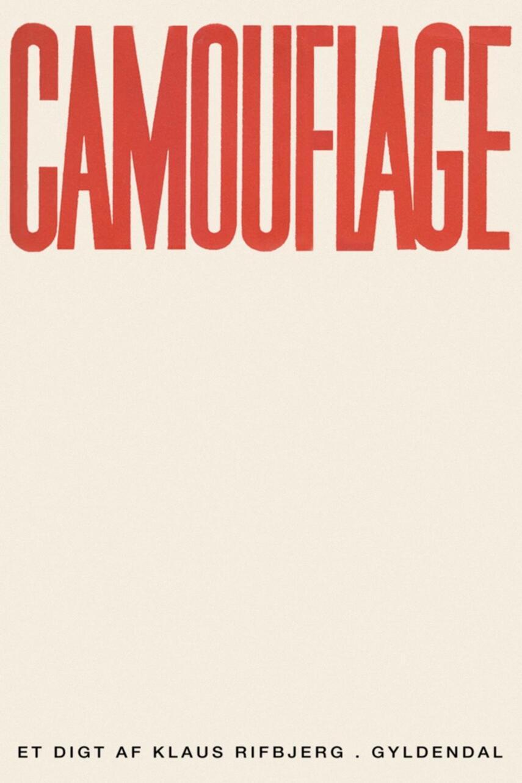 Klaus Rifbjerg: Camouflage : et digt