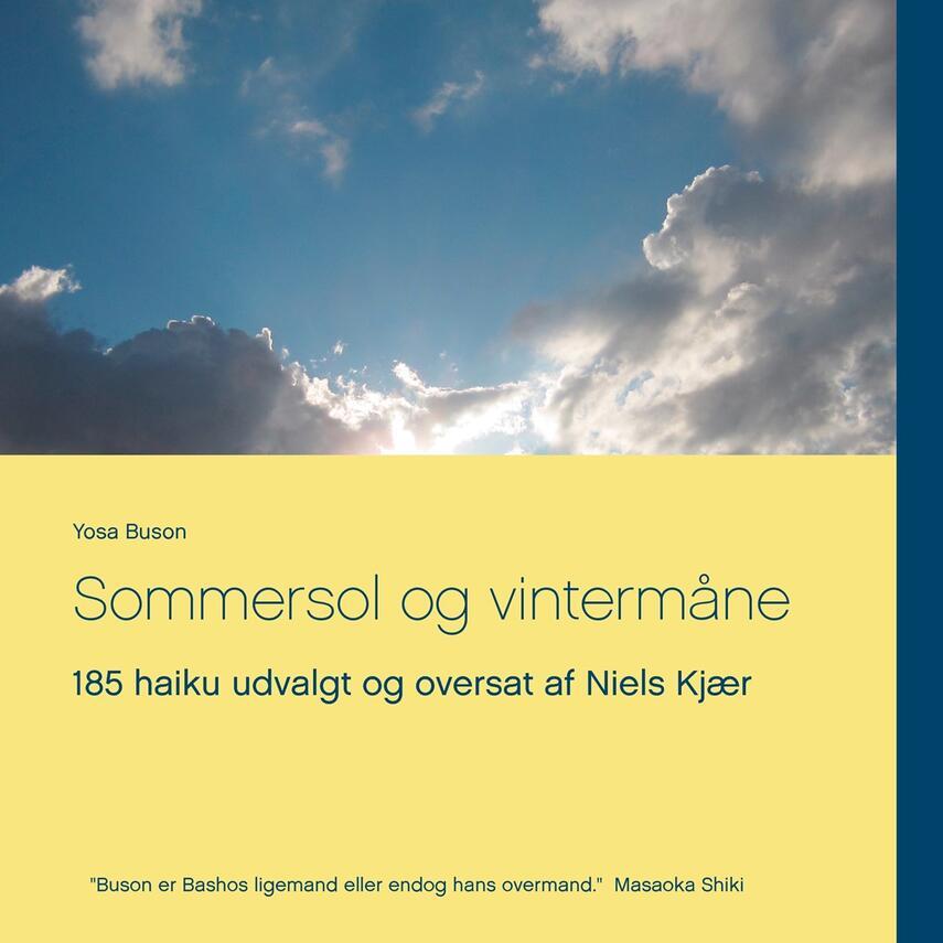 Yosa Buson: Sommersol og vintermåne : 185 haiku