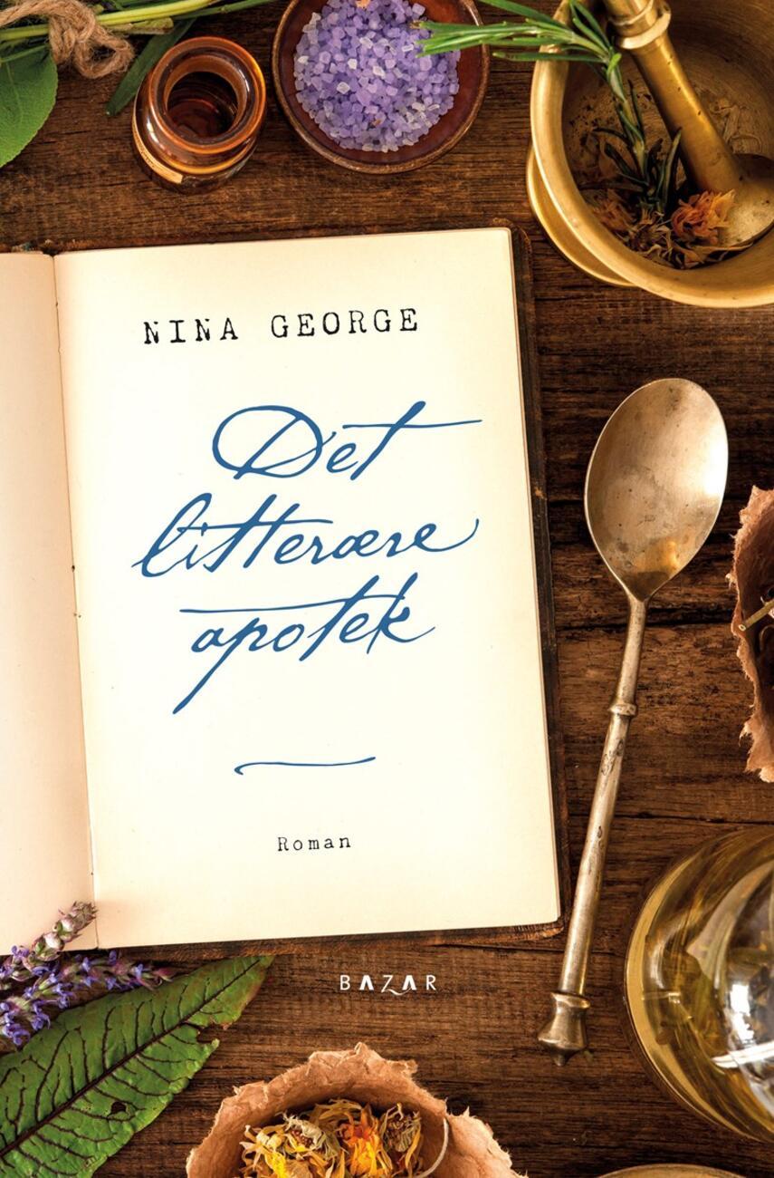 Nina George: Det litterære apotek : roman