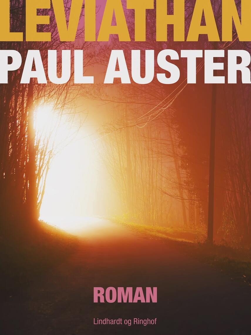 Paul Auster: Leviathan : roman