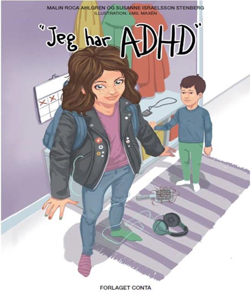Malin Roca Ahlgren (f. 1973): Jeg har ADHD