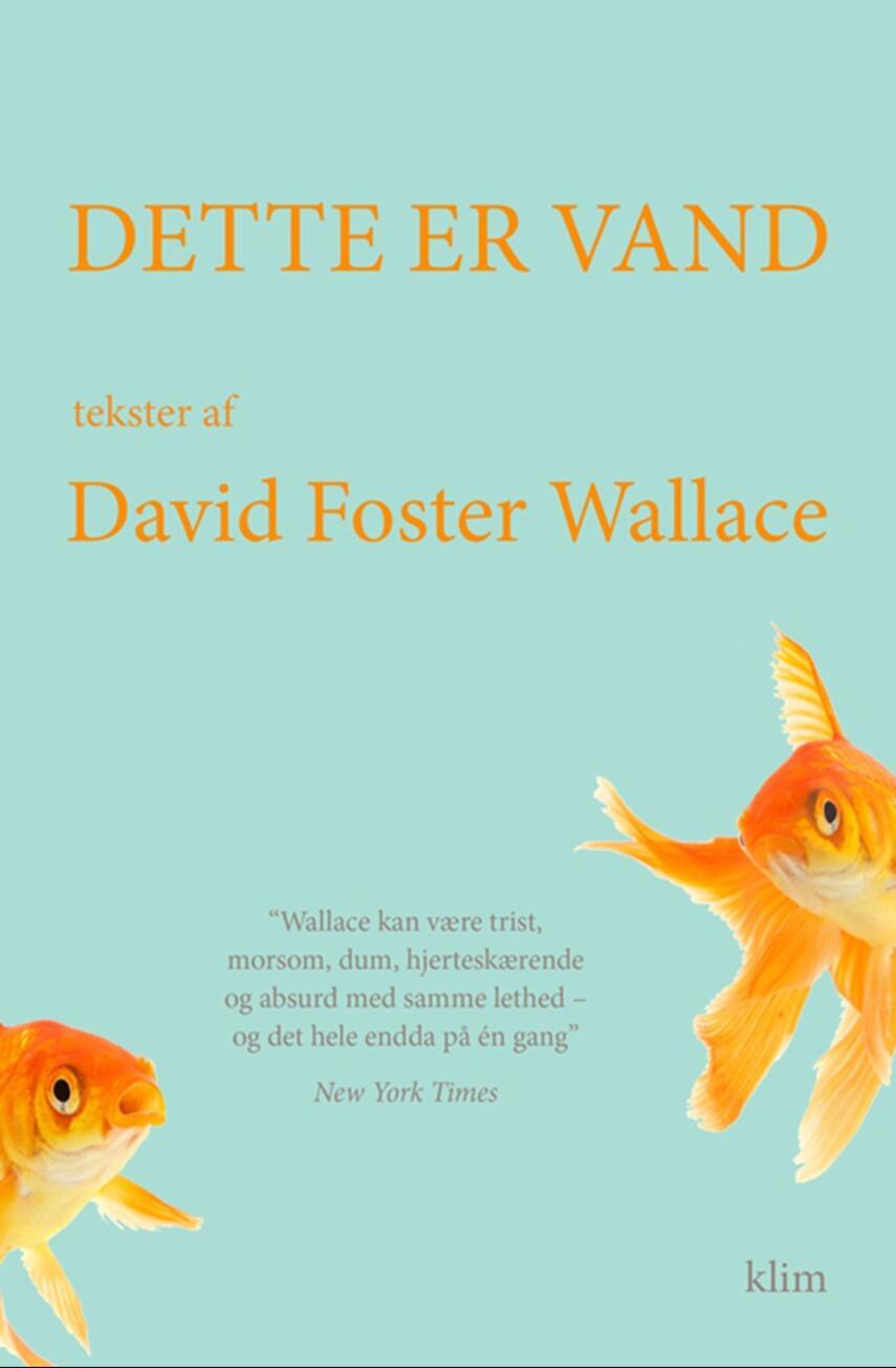 David Foster Wallace: Dette er vand