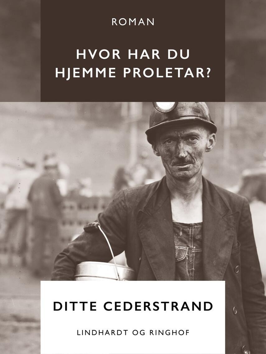 Ditte Cederstrand: Hvor har du hjemme proletar? : roman