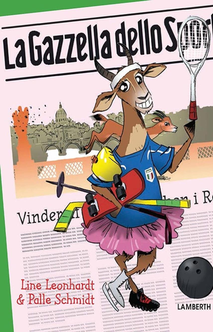 Line Leonhardt, Palle Schmidt (f. 1972): La Gazzella dello Sport