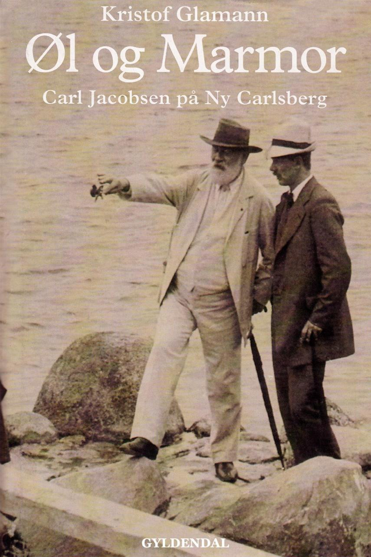 Kristof Glamann: Øl og marmor : Carl Jacobsen på Ny Carlsberg