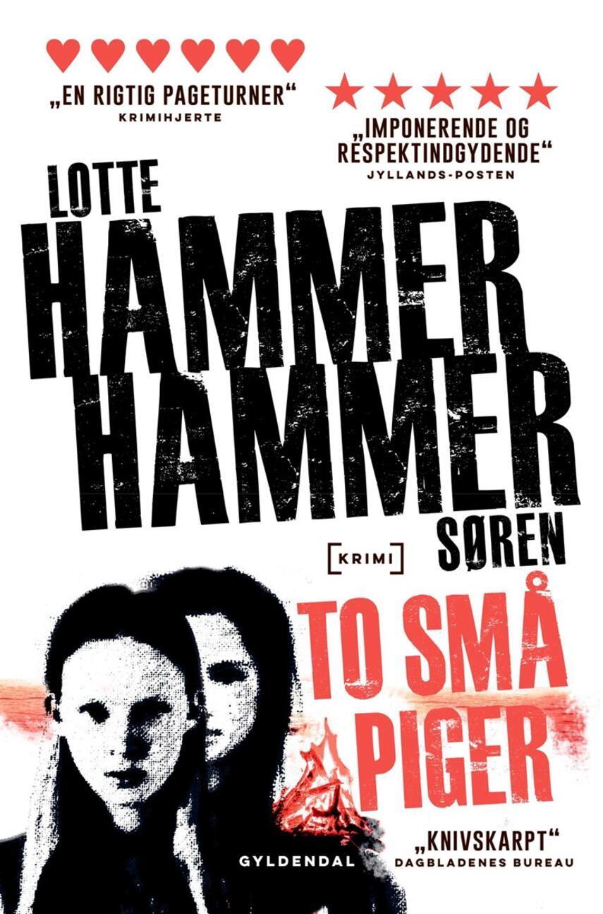 Lotte Hammer: To små piger : krimi