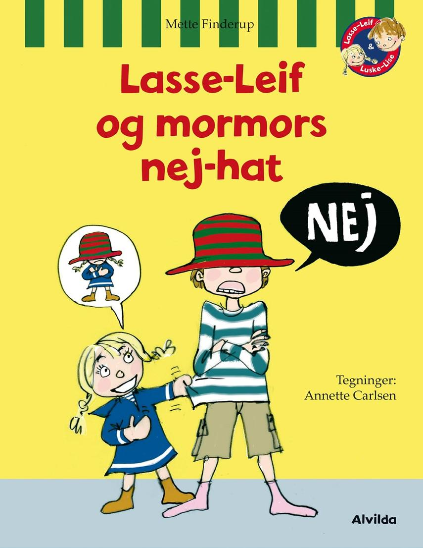 Mette Finderup, Annette Carlsen (f. 1955): Lasse-Leif og mormors nej-hat
