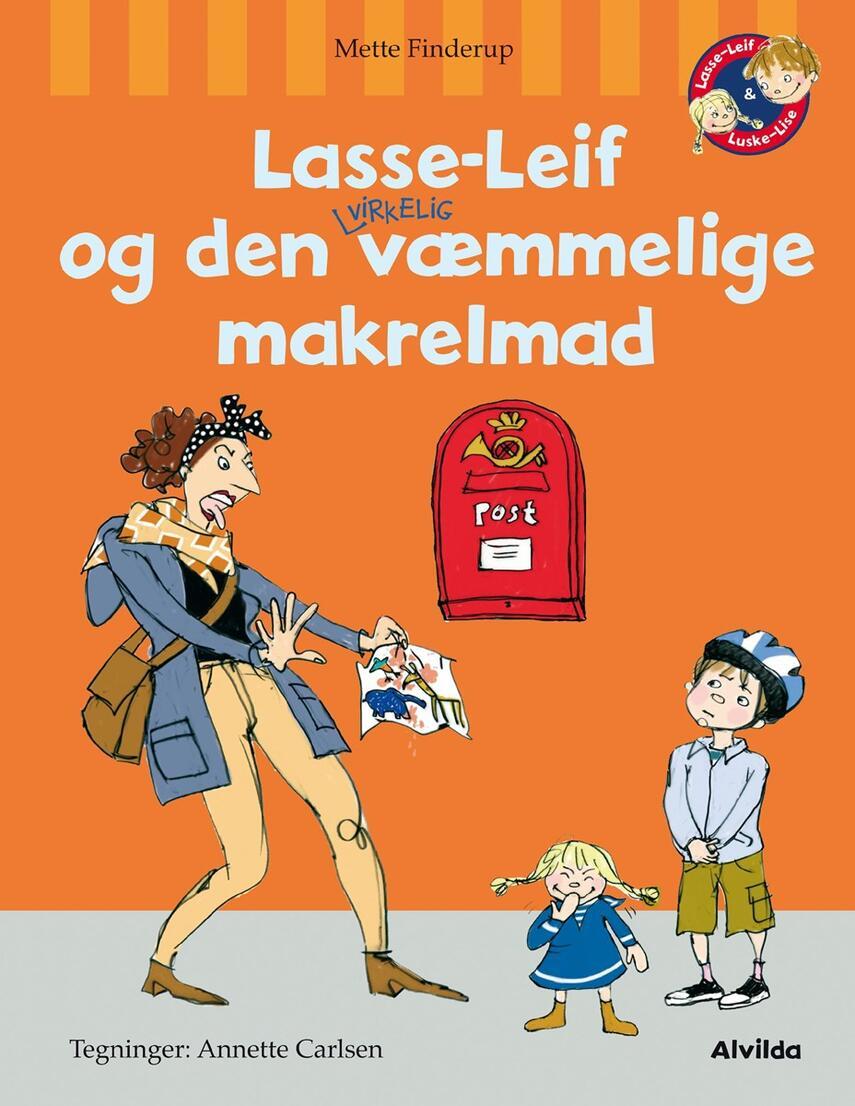 Mette Finderup, Annette Carlsen (f. 1955): Lasse-Leif og den virkelig væmmelige makrelmad