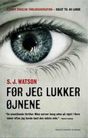 S. J. Watson: Før jeg lukker øjnene