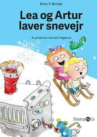 : Lea og Artur laver snevejr