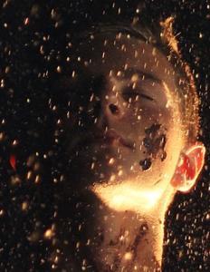 mand i guldregn